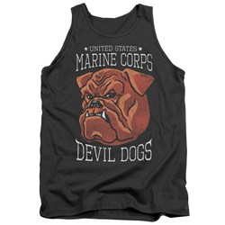 Us Marine Corps - Mens Devil Dogs Tank Top