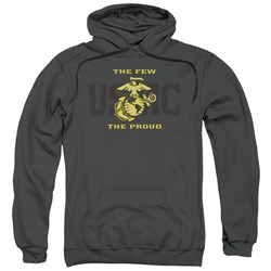 Us Marine Corps - Mens Split Tag Pullover Hoodie