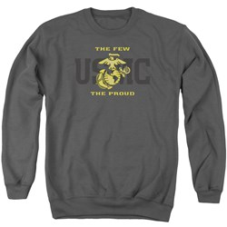 Us Marine Corps - Mens Split Tag Sweater