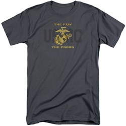 Us Marine Corps - Mens Split Tag Tall T-Shirt