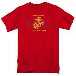Us Marine Corps - Mens Split Tag T-Shirt