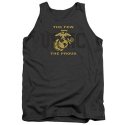 Us Marine Corps - Mens Split Tag Tank Top