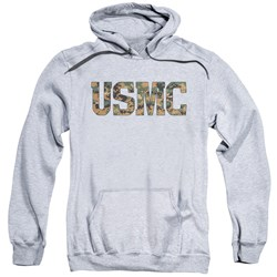 Us Marine Corps - Mens Usmc Camo Fill Pullover Hoodie