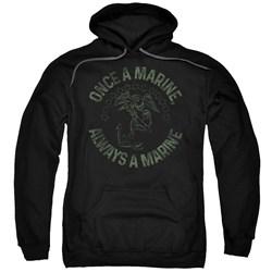 Us Marine Corps - Mens Always A Marine Pullover Hoodie
