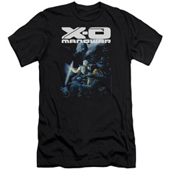 Xo Manowar - Mens By The Sword Premium Slim Fit T-Shirt