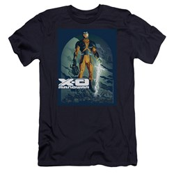 Xo Manowar - Mens Planet Death Premium Slim Fit T-Shirt