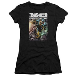 Xo Manowar - Juniors Pit Premium Bella T-Shirt