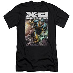 Xo Manowar - Mens Pit Premium Slim Fit T-Shirt