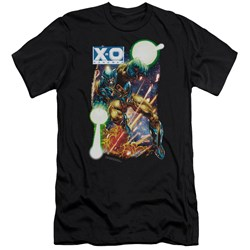 Xo Manowar - Mens Vintage Xo Premium Slim Fit T-Shirt