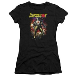 Bloodshot - Juniors Vintage Bloodshot Premium Bella T-Shirt