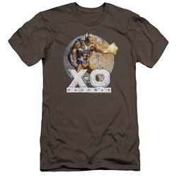 Xo Manowar - Mens Vintage Manowar Premium Slim Fit T-Shirt