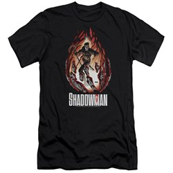Shadowman - Mens Burst Premium Slim Fit T-Shirt