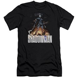 Shadowman - Mens Shadow Victory Premium Slim Fit T-Shirt