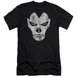 Shadowman - Mens Face Premium Slim Fit T-Shirt