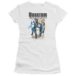 Quantum And Woody - Juniors Quantum And Woody Premium Bella T-Shirt