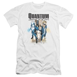 Quantum And Woody - Mens Quantum And Woody Premium Slim Fit T-Shirt