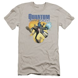 Quantum And Woody - Mens Threes A Crowd Premium Slim Fit T-Shirt