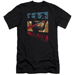 Ninjak - Mens Panel Premium Slim Fit T-Shirt