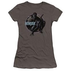 Ninjak - Juniors Crouching Ninjak Premium Bella T-Shirt