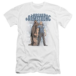 Archer & Armstrong - Mens Two Against All Premium Slim Fit T-Shirt