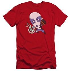 Valiant - Mens Quantum Emoji Premium Slim Fit T-Shirt