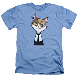 Valiant Comics - Mens Doctor Mirage Cat Cosplay Heather T-Shirt