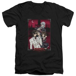Vampire Knight - Mens Castle Pose V-Neck T-Shirt
