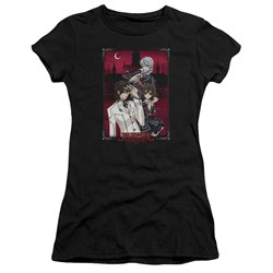 Vampire Knight - Juniors Castle Pose T-Shirt