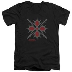 Vampire Knight - Mens Hunter Symbol V-Neck T-Shirt