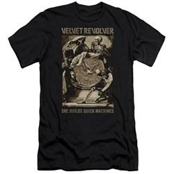 Velvet Revolver - Mens Quick Machines Premium Slim Fit T-Shirt