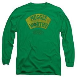 Fantastic Beasts - Mens Muggle Worthy Long Sleeve T-Shirt