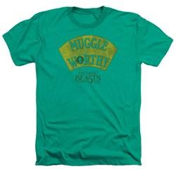Fantastic Beasts - Mens Muggle Worthy Heather T-Shirt
