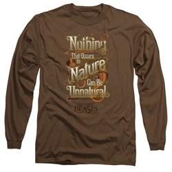 Fantastic Beasts - Mens Unnatural Long Sleeve T-Shirt