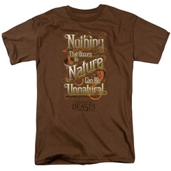 Fantastic Beasts - Mens Unnatural T-Shirt