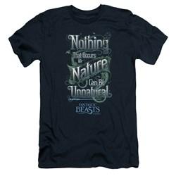 Fantastic Beasts - Mens Unnatural Premium Slim Fit T-Shirt