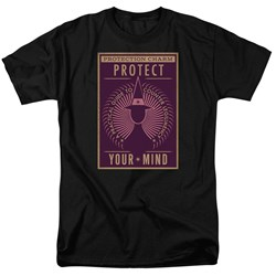 Fantastic Beasts - Mens Protect Your Mind T-Shirt