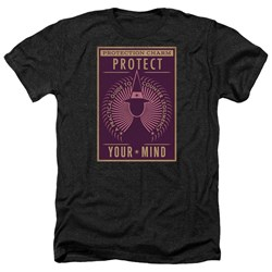 Fantastic Beasts - Mens Protect Your Mind Heather T-Shirt
