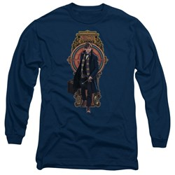 Fantastic Beasts - Mens Newt Scamander Long Sleeve T-Shirt