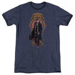 Fantastic Beasts - Mens Newt Scamander Ringer T-Shirt