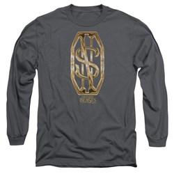 Fantastic Beasts - Mens Scamander Monogram Long Sleeve T-Shirt
