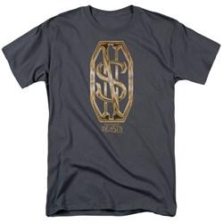 Fantastic Beasts - Mens Scamander Monogram T-Shirt