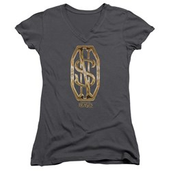 Fantastic Beasts - Juniors Scamander Monogram V-Neck T-Shirt