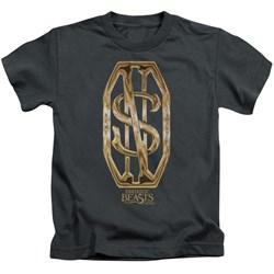 Fantastic Beasts - Youth Scamander Monogram T-Shirt