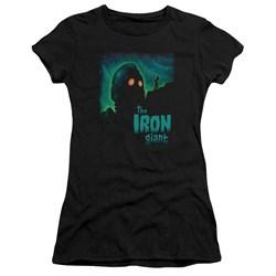 Iron Giant - Juniors Look To The Stars Premium Bella T-Shirt