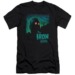 Iron Giant - Mens Look To The Stars Premium Slim Fit T-Shirt