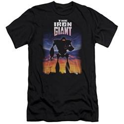 Iron Giant - Mens Poster Premium Slim Fit T-Shirt