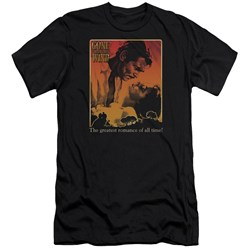 Gone With The Wind - Mens Greatest Romance Premium Slim Fit T-Shirt