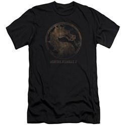 Mortal Kombat X - Mens Metal Seal Premium Slim Fit T-Shirt