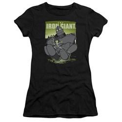 Iron Giant - Juniors Helping Hand Premium Bella T-Shirt
