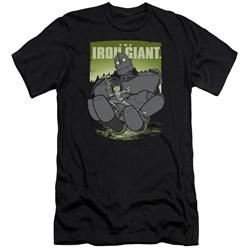 Iron Giant - Mens Helping Hand Premium Slim Fit T-Shirt